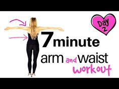 EXERCISE HOME WORKOUT - ARM EXERCISES FOR WOMEN AND WAIST WORKOUT - No equipment needed - YouTube