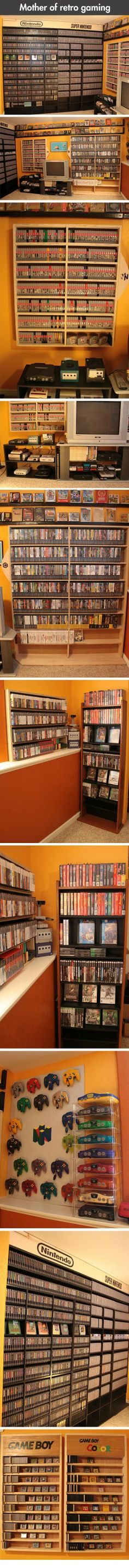 Retro gaming taken to the next level... - One Stop Humor: Funny Pictures and Videos!