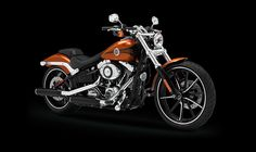 2014 Harley-Davidson® Softail® Breakout® Motorcycles Photos & Videos