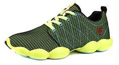 JiYe Colorful Couple Shoes Outdoor Women's and Men's Jogging Walking Riding Running Shoes,Cross-Training Racquet Sports Shoes,Tennis Skate Shoes,Fashion Sneskers,Green,9.5US-Women/8.5US-Men - http://all-shoes-online.com/jiye/9-5-b-m-us-women-8-5-d-m-us-men-jiye-colorful-womens-mens-6