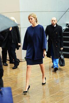 Ivanka Trump Photos: Seen Around Lincoln Center - Day 5 - Fall 2013 Mercedes-Benz Fashion Week