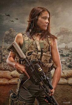 Women Private Military Contractor (PMC)