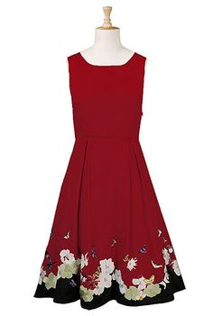 Garden party embellished hem dress, absolutely gorgeous!  Love this website!