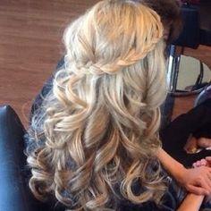 Hair styles for graduation (: