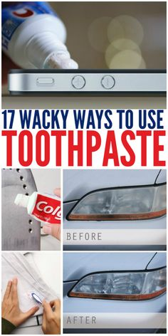 17 Ways to Use Toothpaste (Not on Your Teeth)