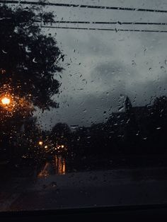 I love rain, it's so comforting and nice to listen to. I like falling asleep to thunder and rain or just watching it fall outside