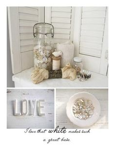 All Things White via Gatherings White Issue!