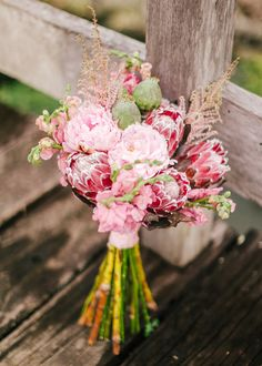 Count on gorgeous flowers to make a big difference on your engagement session. There is just something utterly romantic about blooms, in this case, a Vatel Manila bouquet. Protea Wedding, Floral Wedding, Wedding Bouquets, Wedding Blog, Wedding Planner, Our Wedding, Dream Wedding, Wedding Ideas, Bridal Flowers