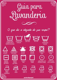 :: Guide for laundry :: Poster.