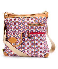 Multi Pops Christy Cotton Canvas Crossbody Bag
