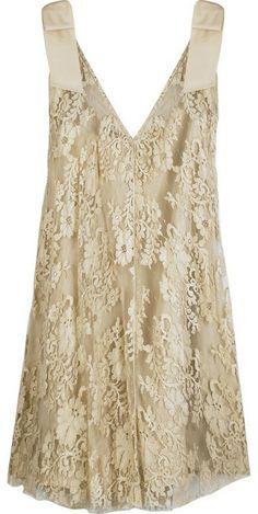 JILL STUART   Katrane lace mini dress ($1,043)