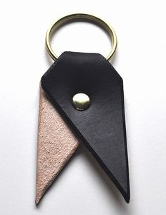 We love this hand-dyed Day & Night Bookmark Key Chain ($34), and just know that it will only get better looking with age.