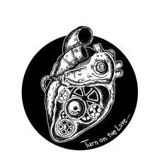 Turn On The Love  830x830 Original Print di JailbreakArtsShop