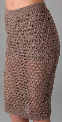 Skirt crochet