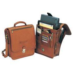 The reporter vertical briefcase