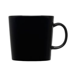 iittala Teema Black Large Mug Sip in Style. Afternoon teatime or post-dinner coffee calls for the iittala Teema Black Large Mug. Coffee Heart, Black Coffee Mug, Basic Shapes, Simple Shapes, Design Museum, Marimekko, Design Shop, Tea Mugs, Coffee Mugs