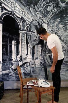 Michael Zavros photo realism paintings