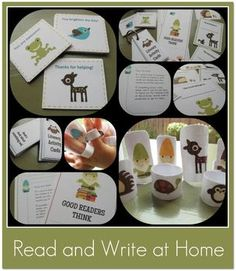 Read and Write at Home is a packet of resources to share with parents to help them create fun literacy routines at home. $
