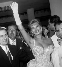A History of Women and Underarm Hair... Yes, Sophia Loren went au natural in her day