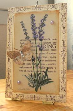 Gorgeous Overlapping Images and I have the patterned papers to do this with.