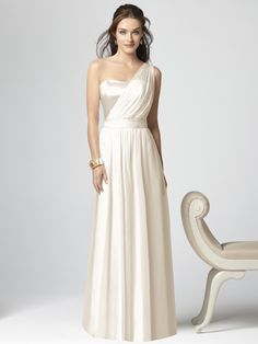 Love this greek inspired gown