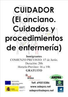 ACTUALIDAD: Inmigrantes. Salamanca: Curso CUIDADOR. El anciano...