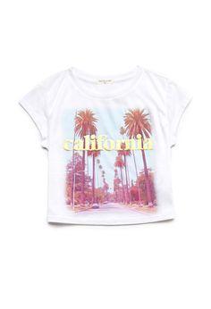 California Sunshine Tee (Kids) | FOREVER21 girls - 2000062093 june 2014