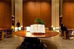 Andaz Tokyo Lobby Bar, Hotel Lobby, Restaurant Hotel, Hotel Hallway, Grand Hyatt, Asian Style, Interior Design, Design Design, Dining Table