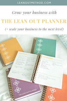 The only planner designed exclusively for small business owners and entrepreneurs, with a proven method to help you achieve your biggest goals, scale to the next level, and increase profitability!   #businessplanner #smallbusinessplanner #businessplanning #planneraddict #entrepreneurplanner #achieveyourgoalsplanner Business Planner, Business Tips, Online Business, How To Lean Out, Create Words, Time Management Tips, Day Planners, Planner Organization, Scale