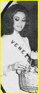 Miss Venezuela 1969 - María José Yellici Sánchez, representó a Venezuela en el Miss Universo 1969, en Miami Beach (USA) y no figuró en el certaman ganado por Gloria Díaz de Filipinas..