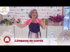Feria Hogarmania: lámparas hechas con cuerdas - YouTube Ideas Para, Diy Crafts, Youtube, Manualidades, Speech Balloon, Step By Step, Ropes, Home, Lights