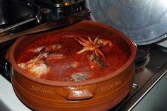 Zuppa di pesce con Scorfani, Lappane e Seppie - http://blog.giallozafferano.it/suditaliaincucina/zuppa-pesce-con-scorfani-lappane-seppie/