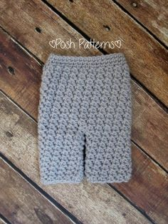 crochet baby pants pattern