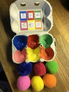 färger-arkiv - Tecken som stöd - Toppbloggare på Womsa Educational Activities For Kids, Crafts For Kids, Diy Crafts, Kids And Parenting, Montessori, Autism, Kindergarten, Preschool, Presents