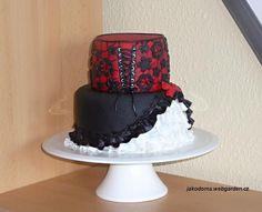 Gothic Dress — Birthday Cakes Pretty Cakes, Beautiful Cakes, Amazing Cakes, Corset Cake, Dress Cake, Gothic Wedding Cake, Wedding Cakes, Pagan Wedding, Fab Cakes