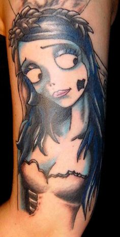 just because its one of my most favoriteeeee movies!     Corpse Bride tattoo!