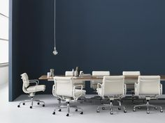 Herman Miller Eames Soft Pad Group Chair Management Chair