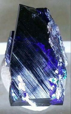 Stunning Blue Azurite crystal