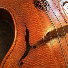 1997 Viola D'Amore by Eric Benning. #violadamore #violinmaker #violin…