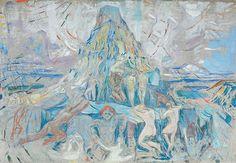 The human mountain » Munch's EkelyThe Human Mountain: Towards the Light 1927–1929 / Oil on unprimed canvas /300 x 420 cm Munch Museum