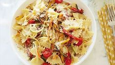 Get this all-star, easy-to-follow Pasta Primavera recipe from Giada De Laurentiis