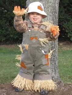 75 Cute Homemade Toddler Halloween Costume Ideas...this would be cute if i didn't have a lot of time