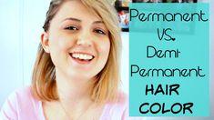 Awesome Semi Permanent Vs Demi Permanent Hair Color
