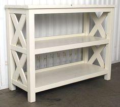 Farmhouse Style Side Table : EBTH