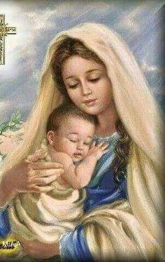 Maria y Jesus Dormir