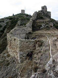 Pueblos Fantasmas en Catalunya: Lugares olvidados-Castillo de Castellfollit-Castel...