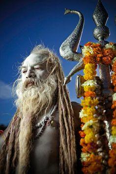 Wandering Saddhu, Rishikesh