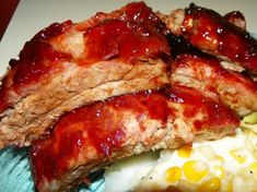 Down Home With The Neeley's:  Baby Back Ribs Dry Rub and cook method  used on their Food Network TV show.
