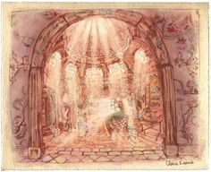 Living Lines Library: Tangled (2010) - Visual Development: Locations