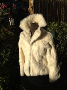 Luxury Twenty Twenty Ivory Real Rabbit Fur Coat  S/M Sexy & Luxurious Super Soft  Just Make An Offer.....Offering Great Deals and Super Low Prices with 100% Positive Feedback Since 2001!!!!!!!!!